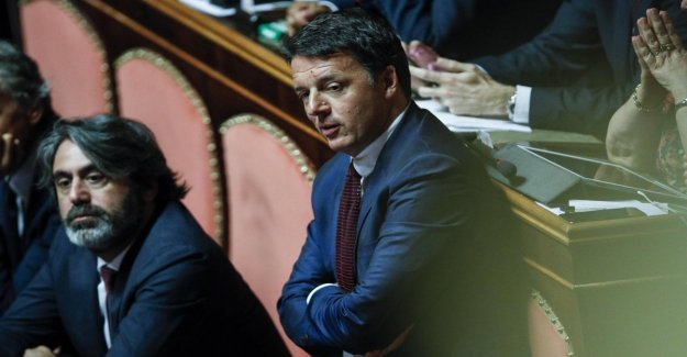 Renzi reto Salvini: Querelami de 49 millones de euros. Yo no uso la inmunidad parlamentaria