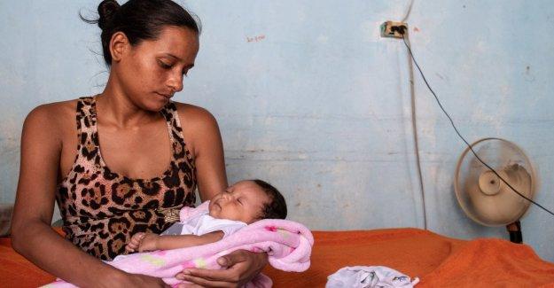 Save the children: Así que vamos a guardar el venezolano embarazada a la frontera con Colombia