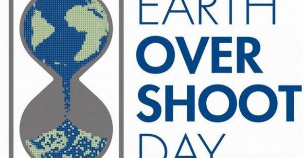 Sobregiro Día, el 29 de julio, la Tierra se han agotado sus recursos, la anual