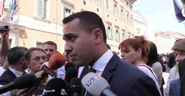 Turín, Di Maio mantendrá el alcalde : No a los enemigos de la alegría