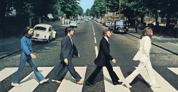 Abbey Road, hace 50 años, el mítico paseo de los Beatles en la cebra más famoso del mundo