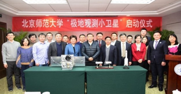 China lanza un microsatélite para polares observación