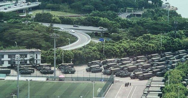 Crisis de Hong Kong, China muestra el poder militar en la frontera