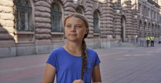 El ambientalista Greta Thunberg responde a los insultos de un columnista