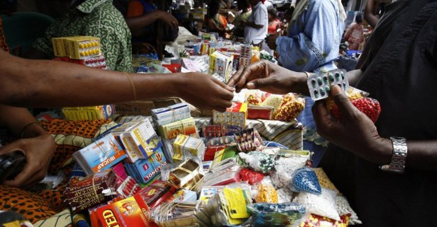 En áfrica, los medicamentos que el asesino es un falso 158mila muertes por año, con un mercado de más de $ 200 millones de dólares en