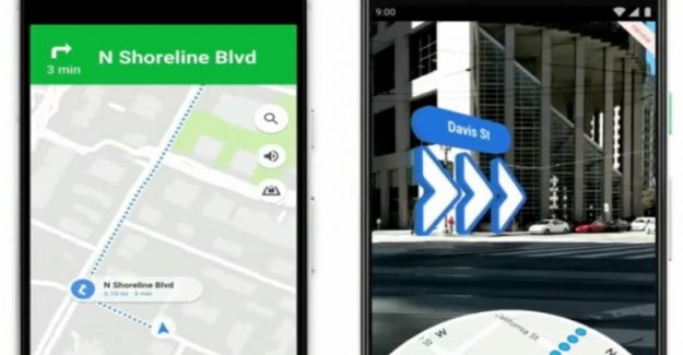 Google Maps en realidad aumentada: ahora también para Android y iOs
