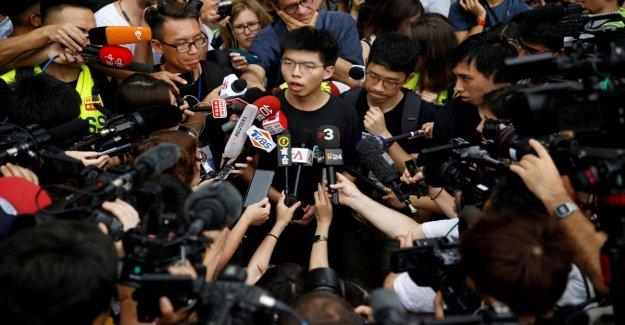 Hong Kong, detenido el activista Joshua Wong