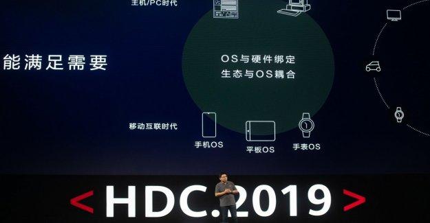 Huawei presenta la Armonía OS, el sistema operativo de la cruz-plataforma