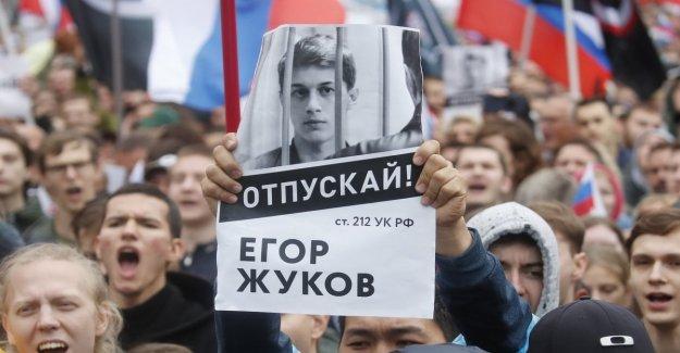 La oposición a las calles de nuevo en Moscú, detener el activista Sobol