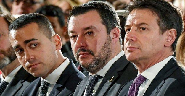 Llamada-y-respuesta entre el viceprimer ministro, Salvini: Maniobra valiente ni voto. Di Maio: Cubrir el impuesto es un misterio.