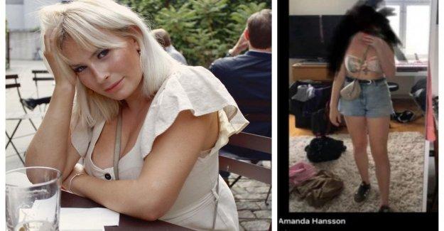 Malmö, de 19 años de edad se presenta en el autobús ligera de ropa, el controlador permite a abajo: la defensa de los musulmanes