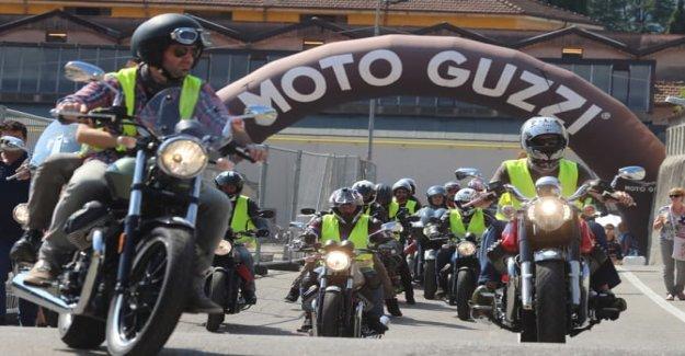 Moto Guzzi Casa Abierta, lo que es un partido