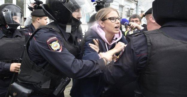 Rusia, regresó a las protestas. Detener el activista Sobol
