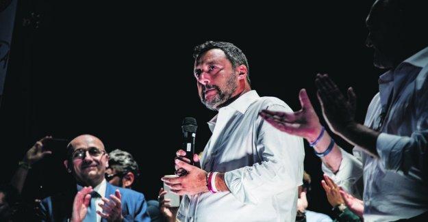 Salvini: Mi candido premier: los italianos nos dan la fuerza para salvar a este país