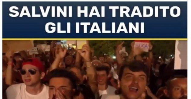 Salvini usted ha traicionado a los italianos, pagó el escolta. El ataque contra el diputado del M5s Chiazzese