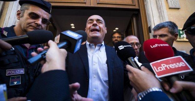 Zingaretti: Los 5 puntos para tratar con el M5S. No accordicchi, el gobierno de inflexión