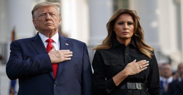 11/9, América se detiene para recordar a las víctimas. Trump y Melania, un minuto de silencio en la Casa Blanca