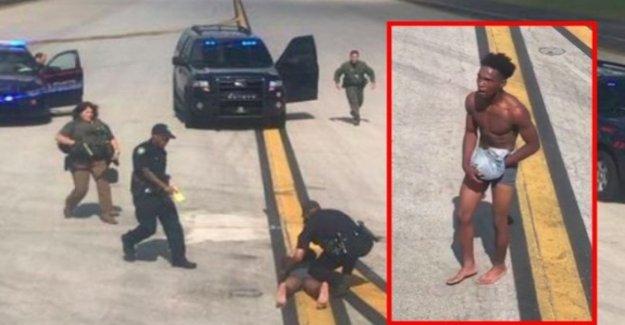 Alabama, un hombre estaba vagando desnudo en la pista de aterrizaje del aeropuerto: yo me robaron