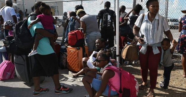 Dorian, Trump no conceder el permiso de residencia temporal a las personas desplazadas de las Bahamas