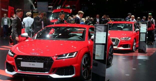 El nuevo Audi RS 7 Sportback, Frankfurt aplaude