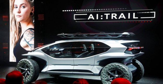 El nuevo Audi en EL CAMINO:cuatro, en Frankfurt el jeep del futuro