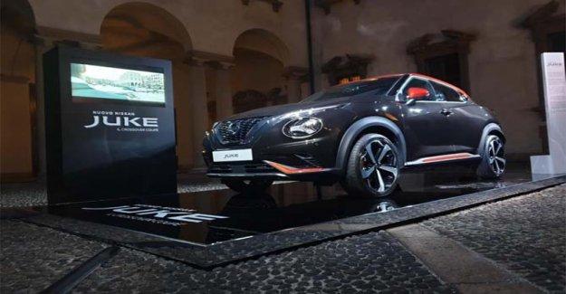 El nuevo Nissan Juke es el protagonista de la Semana de la Moda de Milán