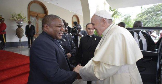El papa Francisco, en Mozambique: La paz vuelva a ser la norma. Sólo las luchas