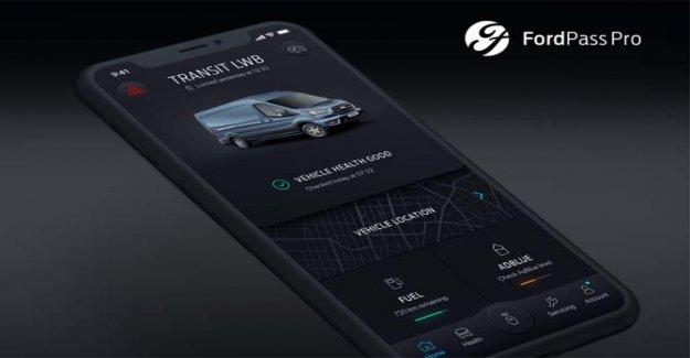 FordPass Pro, vehículos comerciales en el flujo de la aplicación
