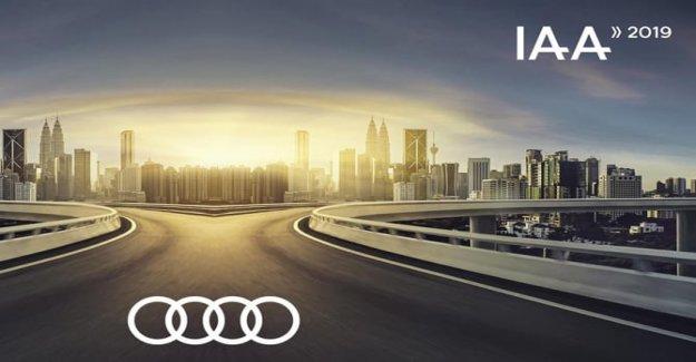 Frankfurt 2019, Audi en la primera fila