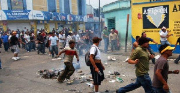Guatemala: El gobierno declara el estado de sitio en seis provincias y los veintidós municipios