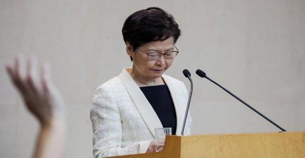 Hong Kong, Lam confesaba su impotencia: yo dimetterei si pudiera
