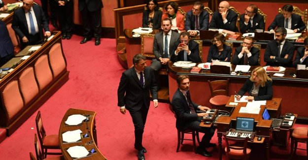 Italia Viva, vía libre por Nencini, y por el Psi. Renzi se puede formar el grupo independiente en el Senado