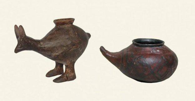 La botella más antigua en el mundo, utilizado 7.000 años atrás