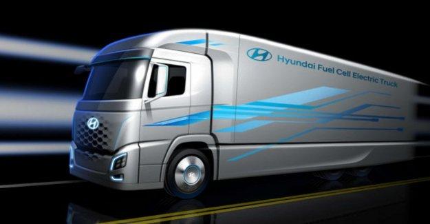 La movilidad de hidrógeno, Hyundai lanza en el trabajo pesado de transporte