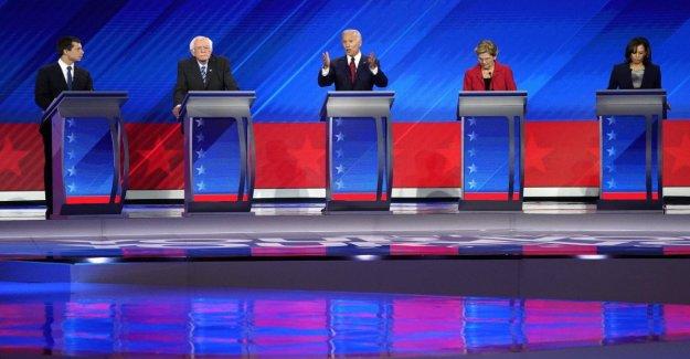 La salud, el trabajo, la inmigración: gratis para todos para el debate de la Dem, estados Unidos