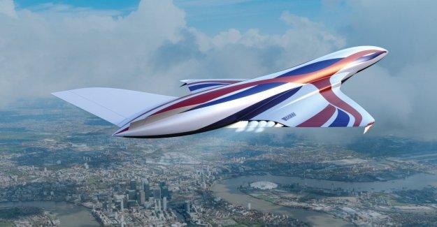 Londres-Sydney en 4 horas: el hipersónicas de vuelo en 2030
