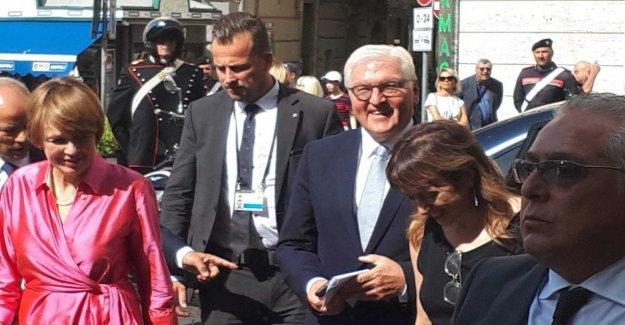 Nápoles, la visita de Steinmeier en el Goethe Institut: El Sur tiene una gran cantidad de orgullo