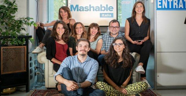 Obtener Mashable Italia, la página web de la super-fans en línea del 23 de septiembre