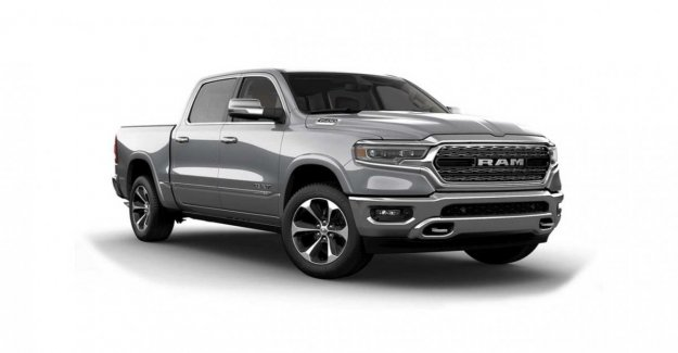 Ram 1500, la pick-up exagerado