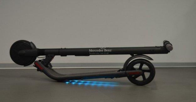 Scooter para los Camiones, la idea de Mercedes