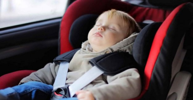 Vienen sillas de auto, anti-abandono, el punto de inflexión para los más pequeños