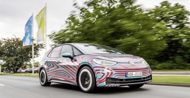 Volkswagen, ya que 30 mil reservas para el eléctrico de un ID
