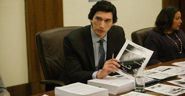 Adam Driver en el thriller político 'El Informe sobre las torturas de la Cia. El director: Para que el público decida si es un final feliz