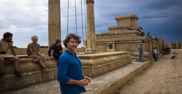 Alberto Angela con 'Ulises' en el Circo Máximo, para decirle al mundo de Ben Hur