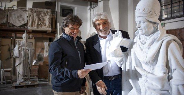 Alberto Angela le dice a Leonardo, y los beats 'Amigos ' celebrities'