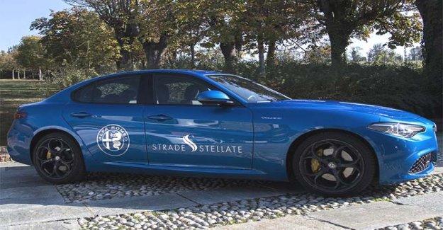 Alfa Romeo Carreteras Estrelladas, en el viaje entre el italiano excelencias