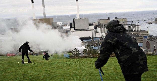 Copenhague, por Lo que el incinerador: la nueva es una colina con una pendiente de esquí. Y no contamina