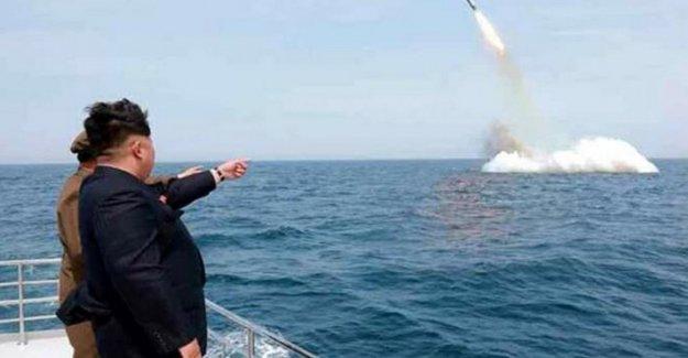 Corea del norte, Seúl: , Lanzó el misil submarino. La ue, a partir de Pyongyang nueva acción provocativa