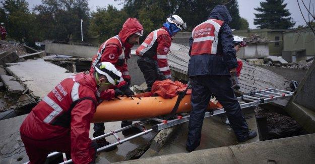 Desde terremotos a las explosiones en la fábrica, la Cruz Roja para simular la respuesta a emergencias