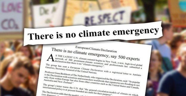 El clima, el follaje de italiano científicos que niegan la ciencia
